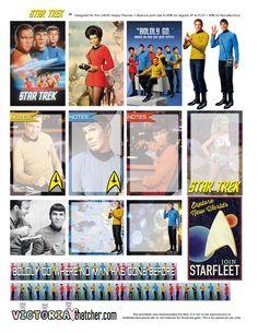 FREE Star Trek Planner Printable by Victoria Thatcher