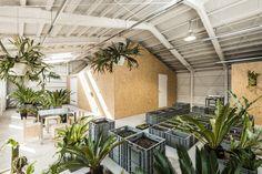 schemata architects converts tokyo factory for takahashi hiroko studio #adaptivereuse