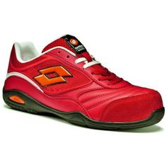 Scarpe Lotto Works Energy 500 Rosso
