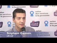 Stéphane Gauvain, Pajemploi au Salon des services à la personne 2011