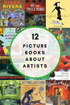 These twelve picture books about artists are amazing resources for parents, teachers, and caregivers. When you read them to your kids, not only will you be implementing literary growth, but you also will be introducing art techniques and qualities. Art Books For Kids, Art Activities For Kids, Artists For Kids, Childrens Books, Art For Kids, Sequencing Activities, Kid Books, Art Children, Preschool Books