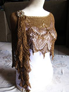 Ravelry: Minarets and Lace pattern by Mary-Anne Mace Knit Cowl, Knitted Shawls, Crochet Scarves, Crochet Shawl, Knit Crochet, Lace Shawls, Crochet Geek, Knit Lace, Lace Scarf