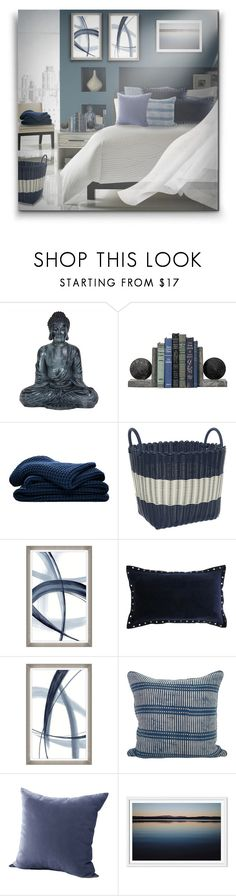 """""""Blue Home Sets! - Contest entry!"""" by asia-12 ❤ liked on Polyvore featuring interior, interiors, interior design, home, home decor, interior decorating, Sheridan and Barclay Butera"""
