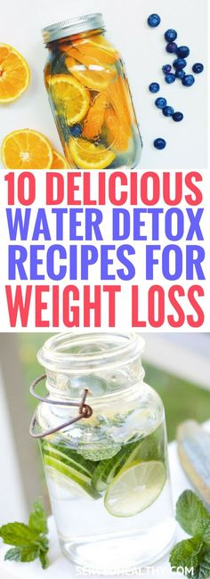 Simply include these detox water recipes into your diet and watch the magic! A great way to get your dose of nutrients, healthy weight loss and detox diet.
