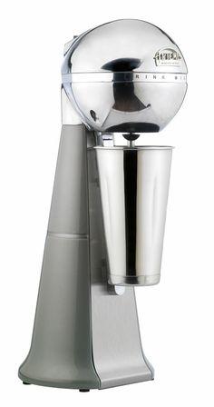 A-2001 Retro Silver ARTEMIS DRINK MIXER with inox cup. #silver