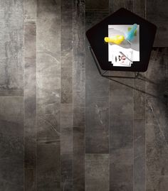 "Imagica 12"" x 24"" - Midnight Unpolished Floor Tile"