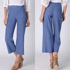 Spotted while shopping on Poshmark: Elevenses cropped pants! #poshmark #fashion #shopping #style #Anthropologie #Pants