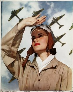"""Soldiers of the Sky,"" 1940, Nickolas Muray. 