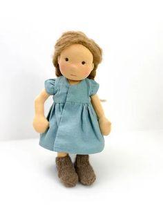 """Von Rabauke Puppe """"Milli"""" - RosaMinze Puppenatelier"""