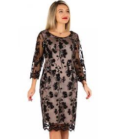 101 Rochii marimi mari - Te imbraci elegant masuri 50 52 54 56 58 60 Cold Shoulder Dress, Dresses With Sleeves, Superhero, Long Sleeve, Casual, Fashion, Tulle, Elegant, Embroidery