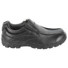 Florsheim Getaway Bike Slip Jr P/G Shoes (Black) - Kids' Shoes - 10.0 M
