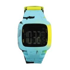 Neff Men's NF0207-tennis camo Digital Double Injected Silicone Strap PC Case Watch
