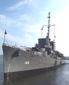 USS Slater (DE-766), Cannon-class destroyer escort, launched in 1944, now a museum ship in Albany, NY