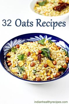 32 oats recipes for breakfast snack quick dinner Healthy delicious can make under 30 mins oatsrecipes oats Breakfast Snacks, Healthy Breakfast Recipes, Dinner Healthy, Healthy Snacks, Vegetarian Recipes, Cooking Recipes, Healthy Recipes, Quick Snacks, Diet Recipes