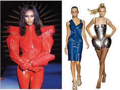 Thierry Mugler's robot fashion
