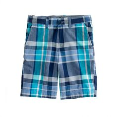 Boys' Stanton short in Indian cotton by J Crew