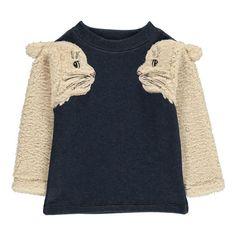 Sadie Sweatshirt - Milk on the rocks - Favourite Kids Fashion Fashion Kids, Girl Fashion, Fashion 2016, 90s Fashion, Fashion Trends, Inspiration Mode, Kids Wear, Kids Outfits, Ideias Fashion