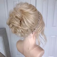 Bride Hairstyles, Pretty Hairstyles, Easy Hairstyles, Hairstyle Ideas, Updo Styles, Short Hair Styles, Hair Upstyles, Hair Videos, Hair Inspiration