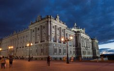 Royal Palace. Madrid, Spain