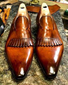 Mens Alligator Tassel Loafer Formal Alligator Slip-On Shoes Leather Tassel, Leather Men, Alligator Boots, Formal Loafers, Brown Dress Shoes, Mens Shoes Boots, Classy Men, Sneakers For Sale, Tassel Loafers