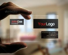 26 best creative alternatives to business cards images on pinterest translucent business card graphicriver ideal furniture store translucent business card high quality colourmoves
