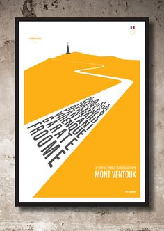 Mont Ventoux by Lemaillot on Etsy Rapha Cycling, Cycling Art, Riviera Maya, Chris Froome, Paris Roubaix, Bike Room, Kitchen Artwork, Wine Label Design, Travel Ads