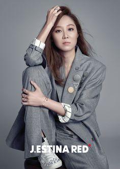 Gong Hyo Jin - J.estina Red 2015