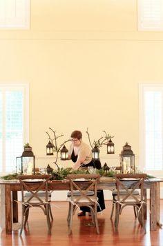 Event and Wedding Planning    Center Piece Inspiration  