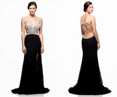 Long Prom Dress, Prom Dress,V-Neck Prom Dress,Sleeveless Prom Dress,Sexy Prom Dress,Beaded Prom Dress