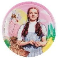 Wizard of Oz Large Paper Plates from www.HardToFindPartySupplies.com #PartySupplies
