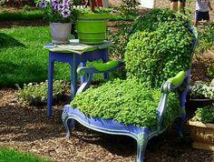 Hortas e Jardins Lindos e Diferentes