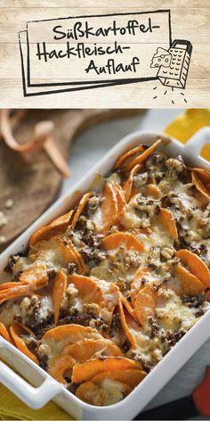 Die Süßkartoffel liegt im Trend - kein Wunder, schließlich lässt sie sich unglaublich vielseitig einsetzen und verleiht den Gerichten das gewisse Etwas. Auch in unserem Süßkartoffel-Hackfleisch-Auflauf macht die Knolle eine gute Figur!