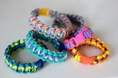 Paracord bracelets: How To