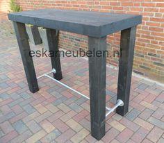 Table Haute, Outdoor Furniture, Outdoor Decor, Sweet Home, Garden, Home Decor, Pallets, Design, Houses