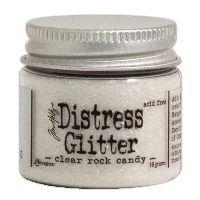 Clear Rock Candy Distress Glitter (1 oz) by Tim Holtz found at fotobella.com