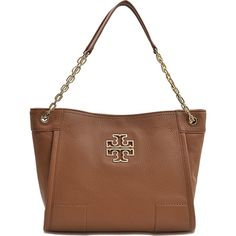 Tory Burch Britten Small Slouchy tote ($333) ❤ liked on Polyvore featuring bags, handbags, tote bags, grey, shopping tote, zip tote, tory burch tote bag, zip tote bag y grey handbags