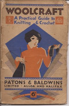 Patons & Baldwins  A Practical Guide to Knitting & Crochet  80+ patterns (P1121)