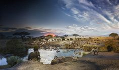 Stunning Day and Night Compositions by Stephen Wilkes Capture the Fleeting Passage of Time - My Modern Met