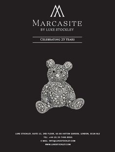 Our new catalogue is now available and ready for your perusal. Featuring our Marcasite by Luke Stockley collection along with a selection of pieces from IX and Fine Jewellery, you can get a copy by emailing us at: info@lukestockley.com