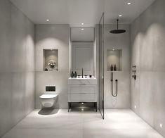 Contemporary Bathroom Design - Interior Decor and Designing Design Studio, Luxury Hotel Bathroom, Contemporary Bathroom Designs, Small Bathroom, Master Bathroom, Bathroom Ideas, Boho Bathroom, Design Your Home, Modern Bathrooms