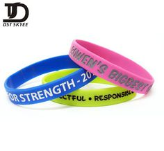 Silicone wristbands are often called Rubber Wristbands or Bracelets. These rubber silicon bracelets are used as cause wristbands for fundraising, such as the famous LiveStrong. Rubber Bracelets, Silicone Bracelets, Awareness Campaign, Corporate Gifts, Corporate Events, Screen Printing, Custom Design, Pure Products, Prints