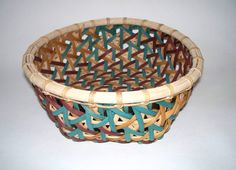 Embellished Hex - Learn from Flo Hoppe at the 2015 Stowe Basketry Festival!