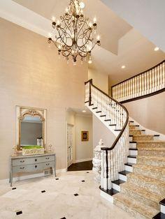 luxury foyer ideas #DallasHomeBuilders