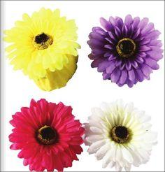 Bolsa plegable flor margarita en caja decorada