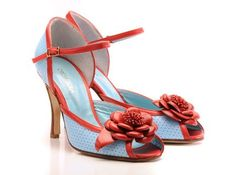 Zapatos para tango de Gretaflora, Argentina. / Tango shoes by Gretaflora
