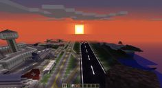 Minecraft Airport Map - Review - Host The Game http://hostthegame.com/minecraft-airport-map-review/