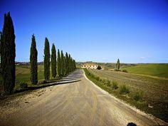 Tuscany country road, Italy