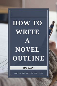 Learn about how how to outline your novel in easy steps. Go into detail how to go about it. Great information.