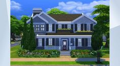 Nombre:  Newcrest Family Home . ¡Mira este solar en la galería de Los Sims 4! - #newcrest#family#home#house#big#nice#large#modern#suburban#perfect#pool#nocc#nopacks  I had fun making this and I really hope you enjoy using it :)