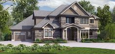 Craftsman House Plan 2473 The Rutledge: 4997 Sqft, 4 Beds, Baths